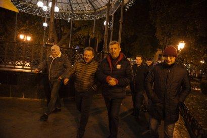 В легендарной Ротонде снова звучали песни об Одессе