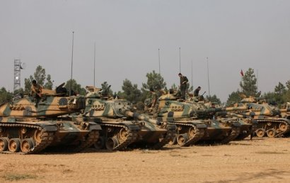 Турция начала военную операцию на границе с Ираком