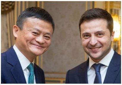 Зеленский предложил основателю Alibaba Джеку Ма открыть в Украине научно-исследовательский центр