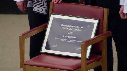 Стала известна дата вручения Сенцову премии Сахарова