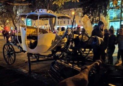 Kонные кареты вернулись на улицы Львова