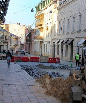Завершается капитальный ремонт в Воронцовском переулке.