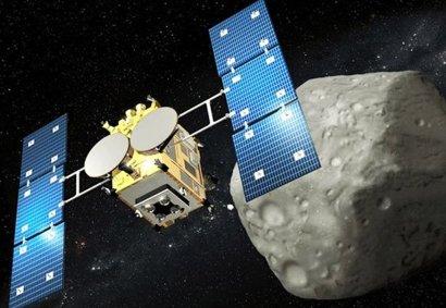 Японский зонд привезет на Землю образцы астероида