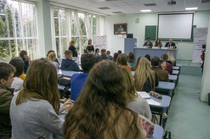 В Национальном университете «Одесская юридическая академия» состоялся третий региональный турнир среди школьников «Будущий юрист»