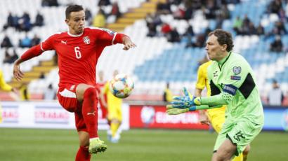 Пятов поделился эмоциями от игры с Сербией
