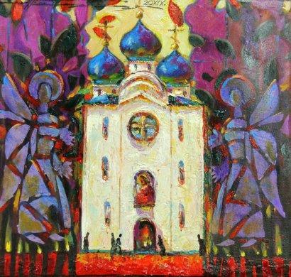 175-летю Свято-Архангело-Михайловского монастыря посвящается. Уже скоро состоится открытие выставки «Свет Православия»