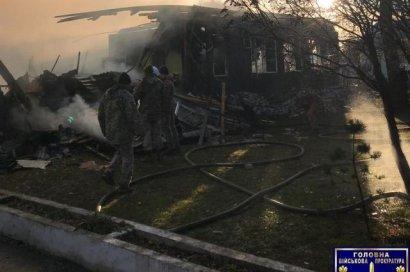 Прокуратура назвала причину возгорания в воинской части под Львовом