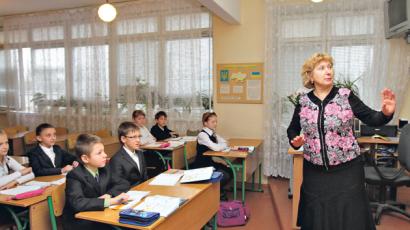 В Украине на одного учителя приходится меньше учеников, чем в странах ЕС