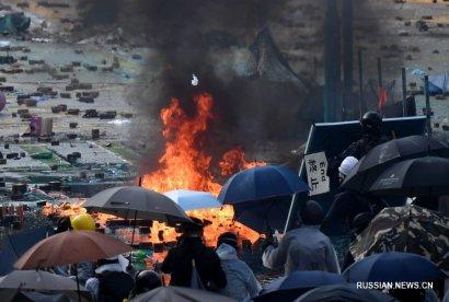 МИД КНР вызвал дипломата США, выразив решительный протест в связи с принятием Сенатом США законопроекта, связанного с протестами в Гонконге