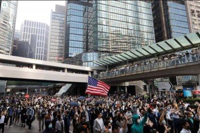 Вся правда о протестах в Гонконге ВИДЕО