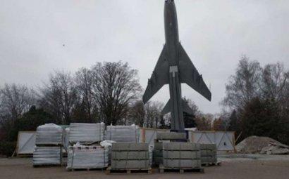 В Черкассах почти за миллион отремонтируют памятник самолету