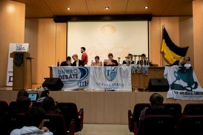 Молодежь Украины осваивает искусство ведения дебатов на базе Одесской юридической академии