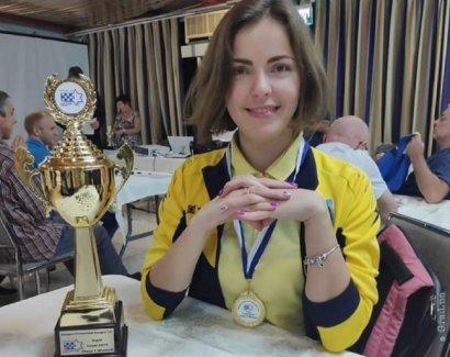Одесситка одержала победу в двух турнирах чемпионата Европы