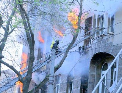 Крупный пожар в одесском колледже: число пострадавших возросло