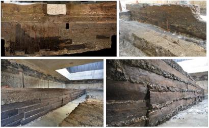 Древний Рим строили из дерева, привезенного с северо-востока Франции