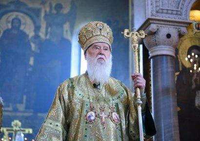 Патриарх Филарет получил право пожизненно служить во Владимирском соборе и жить в здании церкви