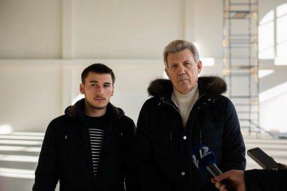 На Академической завершается строительство Международной академической школы «Одесса»
