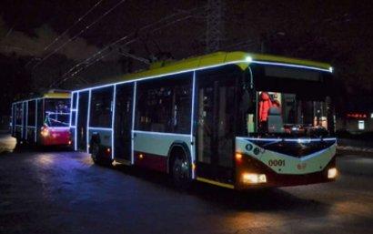 В Одессе пройдет парад троллейбусов