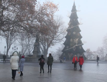 Одесса в ожидании праздников
