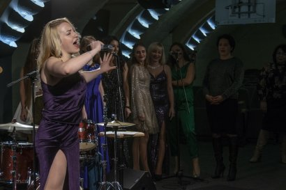 Студенты-вокалисты Международного гуманитарного университета выступили с отчетным концертом