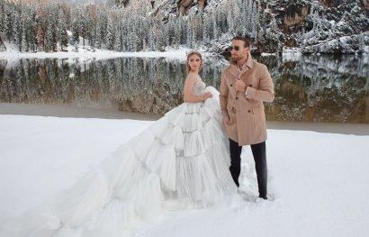 Неповторимая Анастасия Бондарчук и Иракли Макацария в объективе Сони Плакидюк — роскошные съемки в Альпах