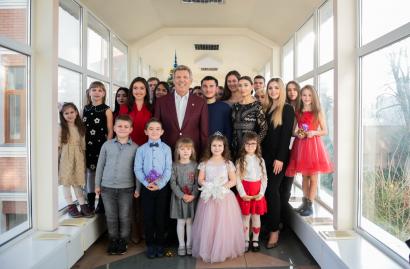 Сергей Кивалов поздравил сограждан с Новым, 2020 годом!