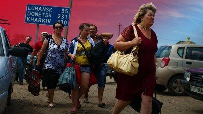 В Украине планируют провести перерегистрацию переселенцев