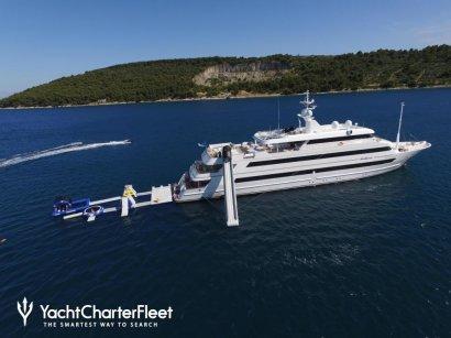 В сети появилось видео с яхтой Порошенко на Сейшельских островах