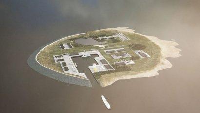 Дания хочет построить искусственный остров в Северном море, который полностью обеспечит страну электричеством