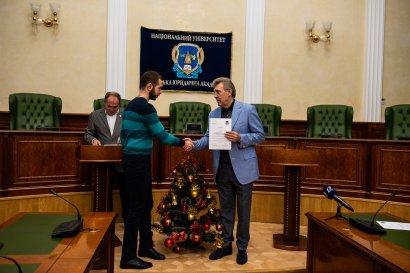 Образовательная интеграция: студенты Одесской Юракадемии прослушали лекции профессоров из Института Европы