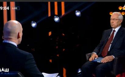 Телеканал НАШ оштрафовали за интервью с Азаровым
