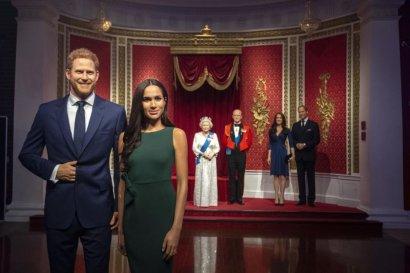 Фигуры принца Гарри и Меган Маркл убрали из экспозиции королевской семьи в музее мадам Тюссо