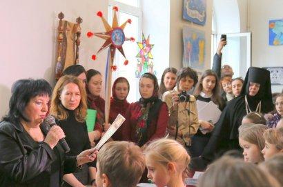 В Одессе состоялось открытие детской выставки и награждение победителей конкурса «Рождественская Звезда»