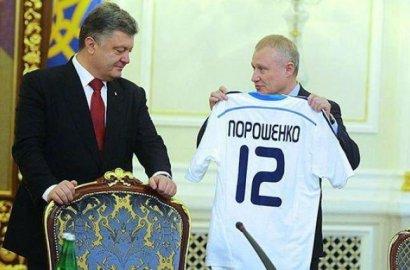 Атакуют Суркисы, Коломойский — в полузащите, на воротах — Порошенко