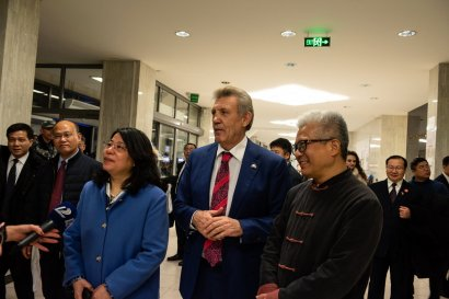 Сергей Кивалов встретился с Генконсулом КНР в Одессе Чэнь Юйжун