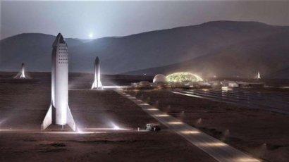 Маск хочет отправить на Марс миллион людей до 2050 года