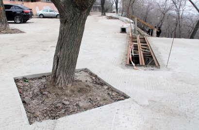 Забетонированный бульвар Жванецкого