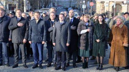 В Одессе начали празднование Дня Соборности Украины