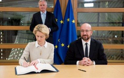 Британия и ЕС подписали соглашение о Brexit