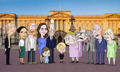 HBO снимет мультфильм о британской королевской семье