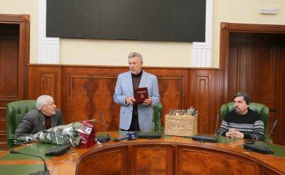 Журналист газеты «Слово» Александр Солдатский отмечает 90-летие