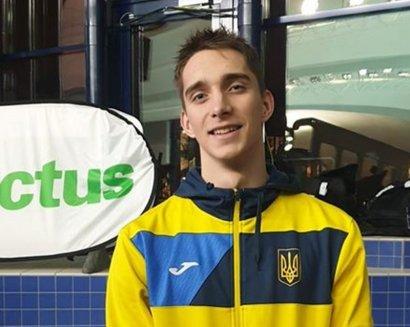 Украинец установил рекорд мира и Европы по плаванию среди юниоров