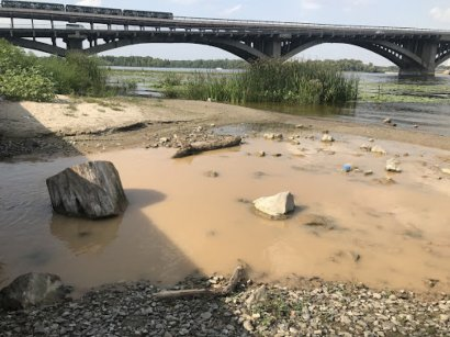 За годы независимости в Украине исчезло более 10 тысяч рек