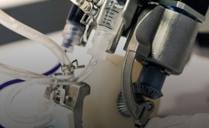 Создан ручной принтер для печати кожи при тяжелых ожогах