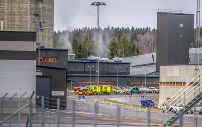 В Швеции 130 человек заблокированы под землей из-за пожара на шахте