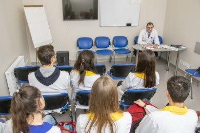 Студенты-медики Международного гуманитарного университета проходят практику в Медицинском доме «Odrex»