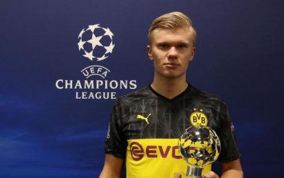 УЕФА выбрал первых обладателей новой награды в Лиге чемпионов
