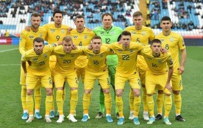 Сборная Украины начала 2020 год в топ-25 рейтинга ФИФА