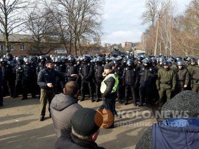 Reuters детально описал протесты в Новых Санжарах