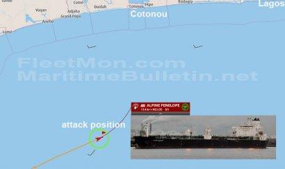 Танкер с украинскими моряками подвергся нападению